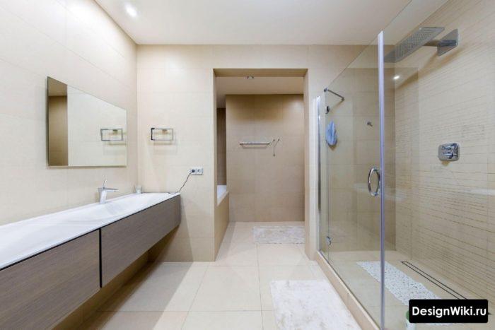 Плитку с каким краем надо выбирать для ванной