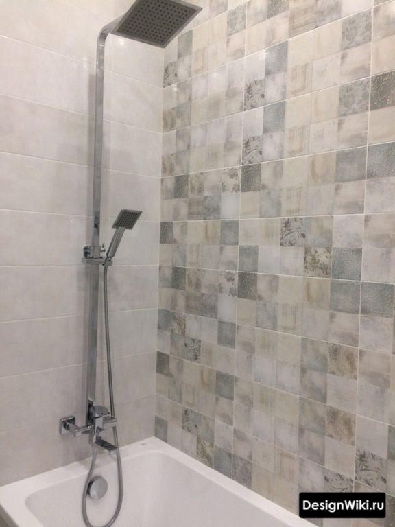Правильный размер плитки для ванной