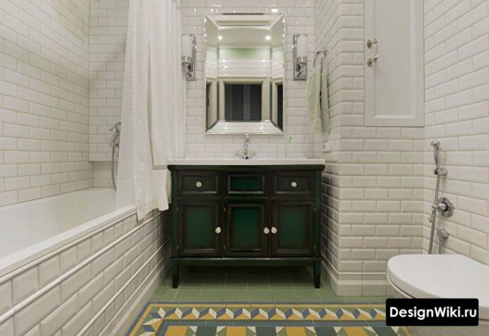 Ремонт ванной в хрущевке с выравниванием стен