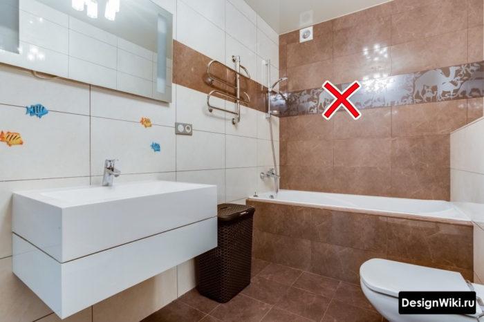 Сэкономьте и не покупайте декоры для ванной в хрущевке