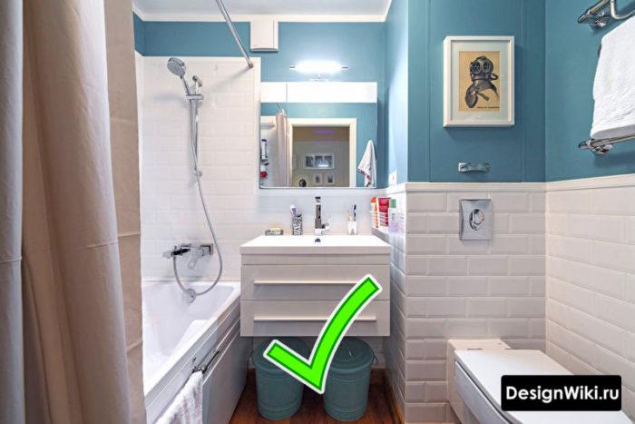 Хороший ремонт ванной в хрущевке