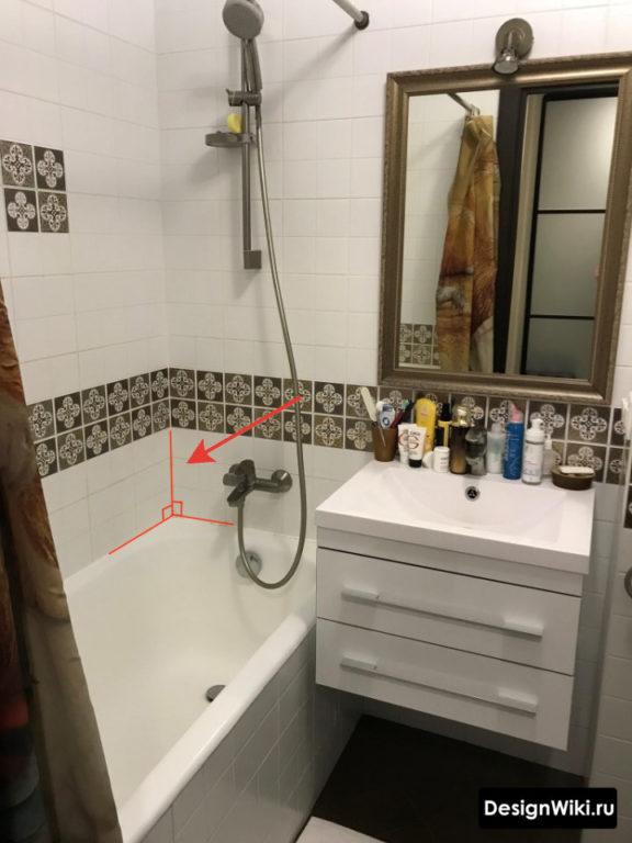 Штукатурка стен в ванной в хрущевке #дизайнинтерьера #ванная