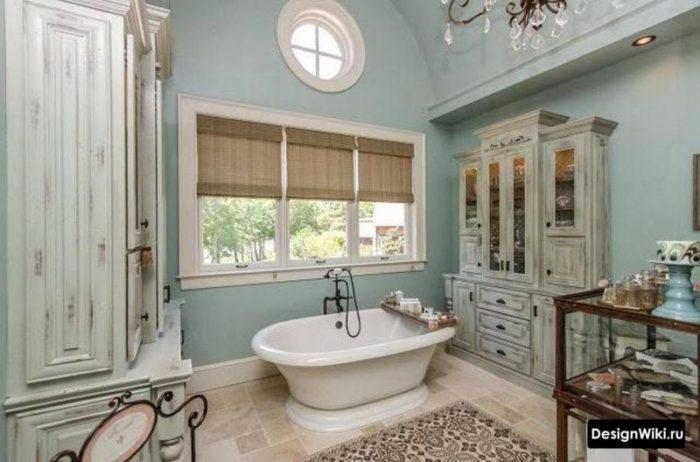 Ванная комната в французском кантри стиле