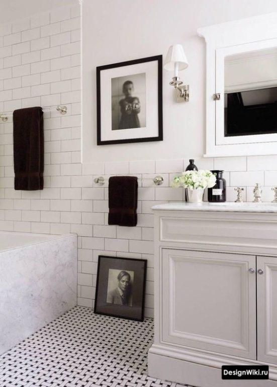 Ванная комната светлый прованс