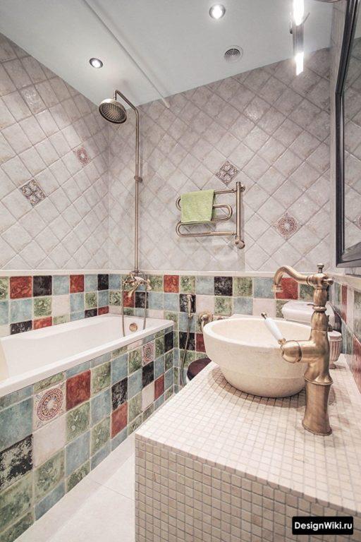 Красивая #ванная в классическом стиле