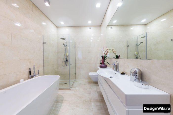 Лучший недорогой потолок для ванной