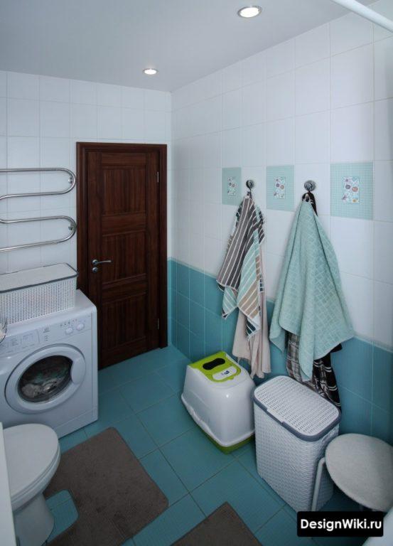 Матовый белый натяжной потолок - лучший выбор для ванной