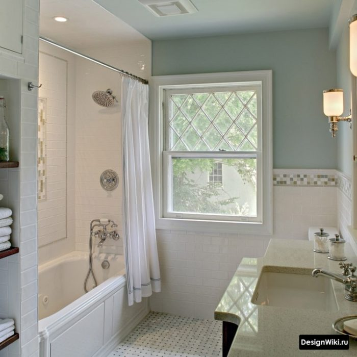 Обычная ванна для классического стиля