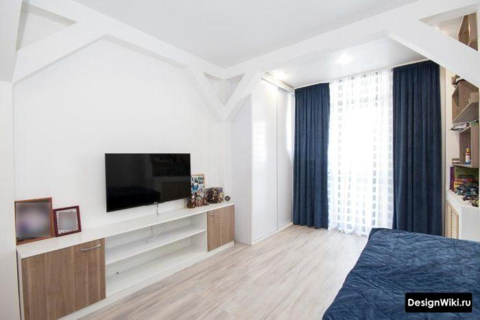 Дизайн комнаты подростка мальчика в стиле минимализм