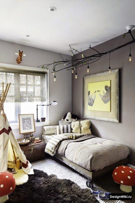 Дизайн комнаты подростка мальчика 14 лет в серых тонах