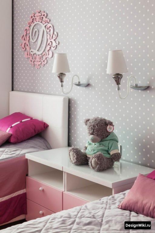 Идеальное сочетание цветов для детской девочки