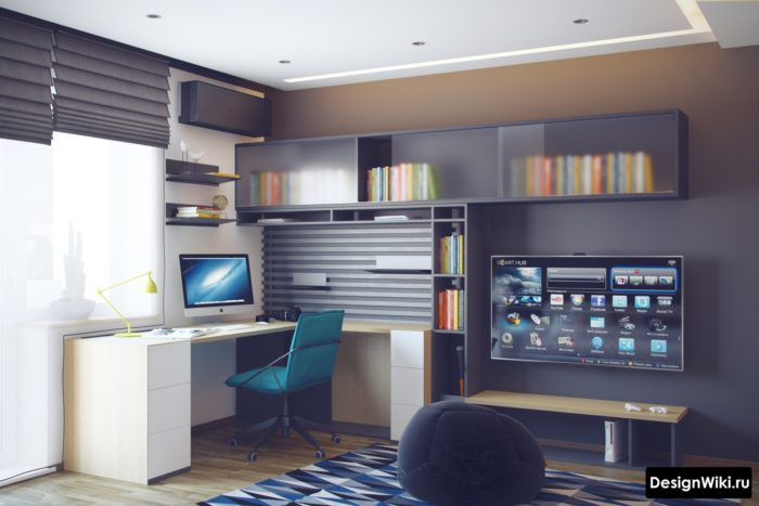 Идеальный дизайн комнаты для мальчика-подростка