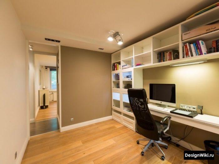 Интерьер комнаты подростка мальчика в современном стиле