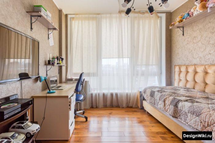 Расстановка мебели в комнате подростка мальчика
