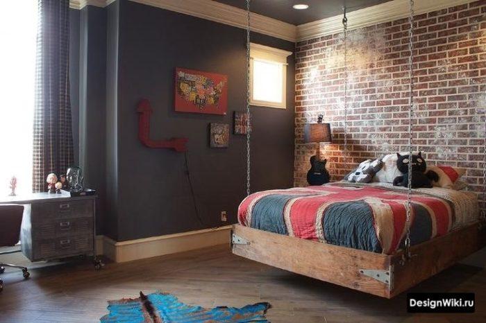 Стиль лофт для комнаты мальчика подростка