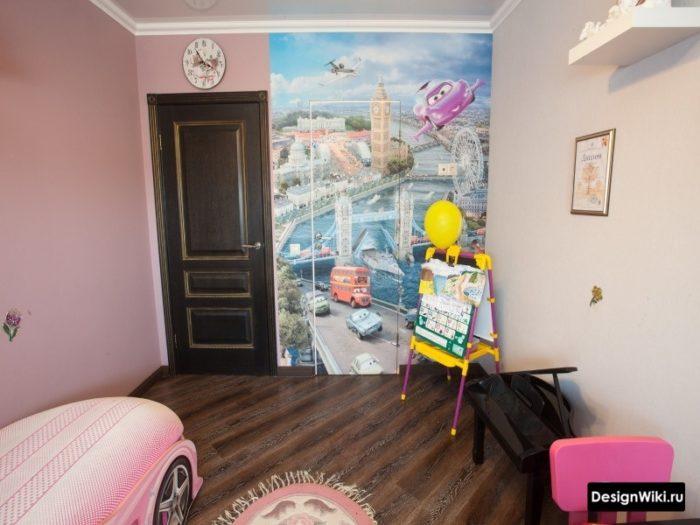Шкаф в стиле мультфильма Машинки