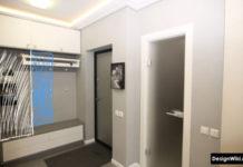 Дизайн малогаборитной прихожей в обычной квартире