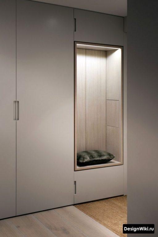 Модная современная прихожая в коридор в современном стиле