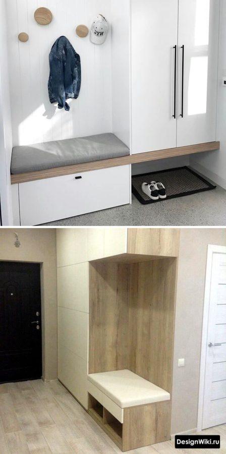 Варианты дизайна прихожих для обычной квартиры