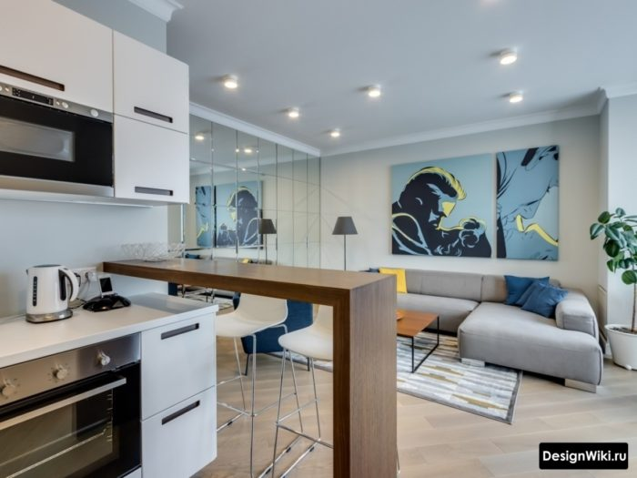 дизайн кухни гостиной 107 фото реальные и 6 идей неочевидные