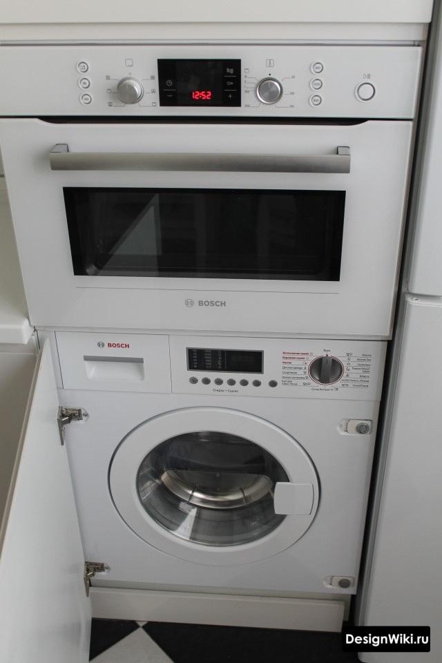 Стиральная машина на кухне в хрущевке