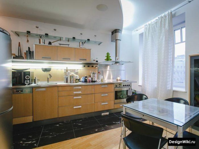 Нестандартный дизайн верха кухни