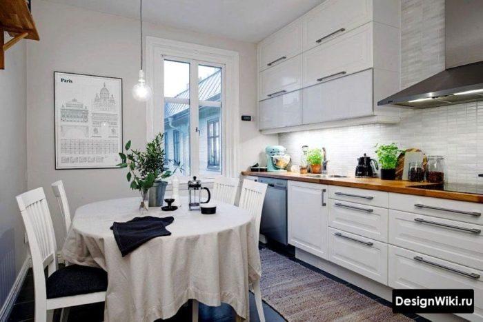 красивые кухни в скандинавском стиле фото