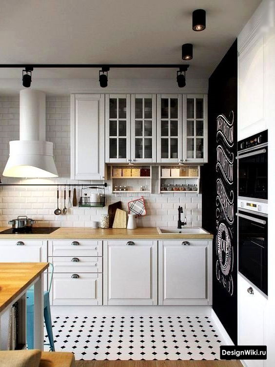 кухня в скандинавском стиле интерьер фото