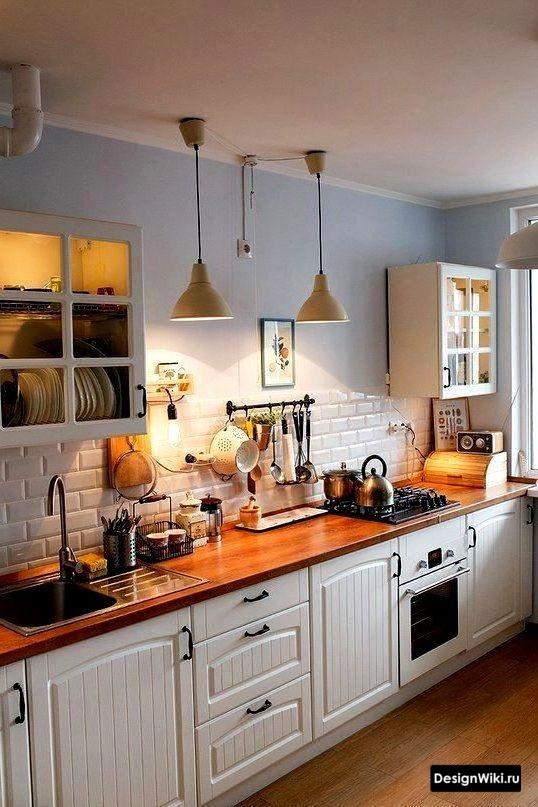 кухня в скандинавском стиле 8 кв м