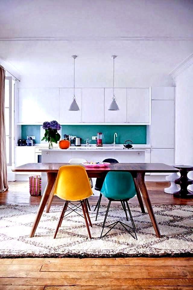 скандинавская кухня интерьер фото