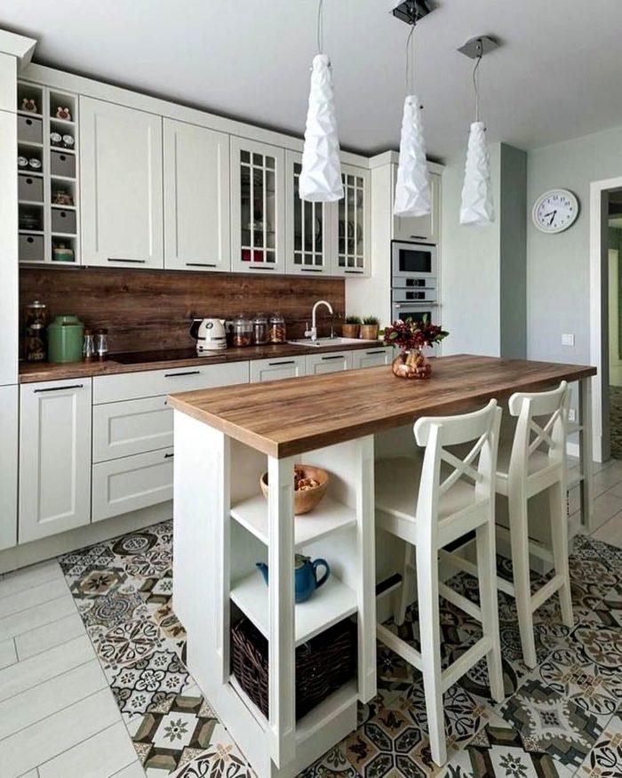 скандинавский минимализм кухня