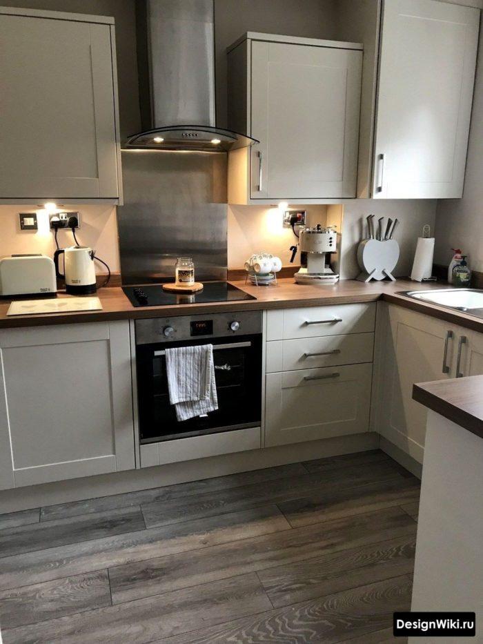 скандинавский стиль в интерьере квартиры фото кухни