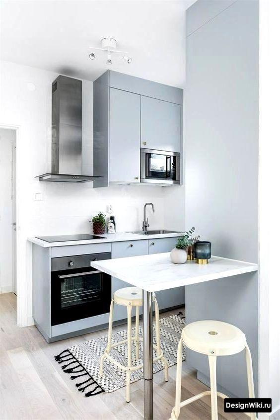 скандинавский стиль в интерьере кухни без ярких акцентов