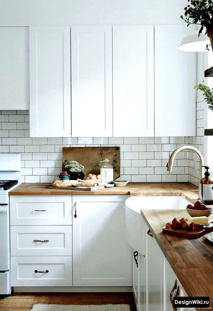 скандинавский стиль в интерьере кухни гостиной фото со шторами