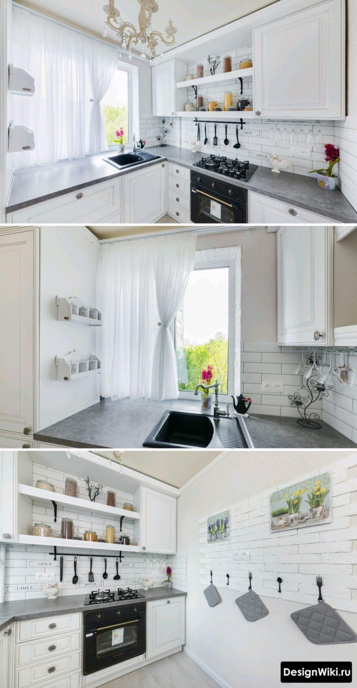 скандинавский стиль в интерьере кухни малогабаритных