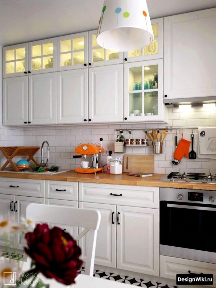 скандинавский стиль в интерьере кухни цветовые решения