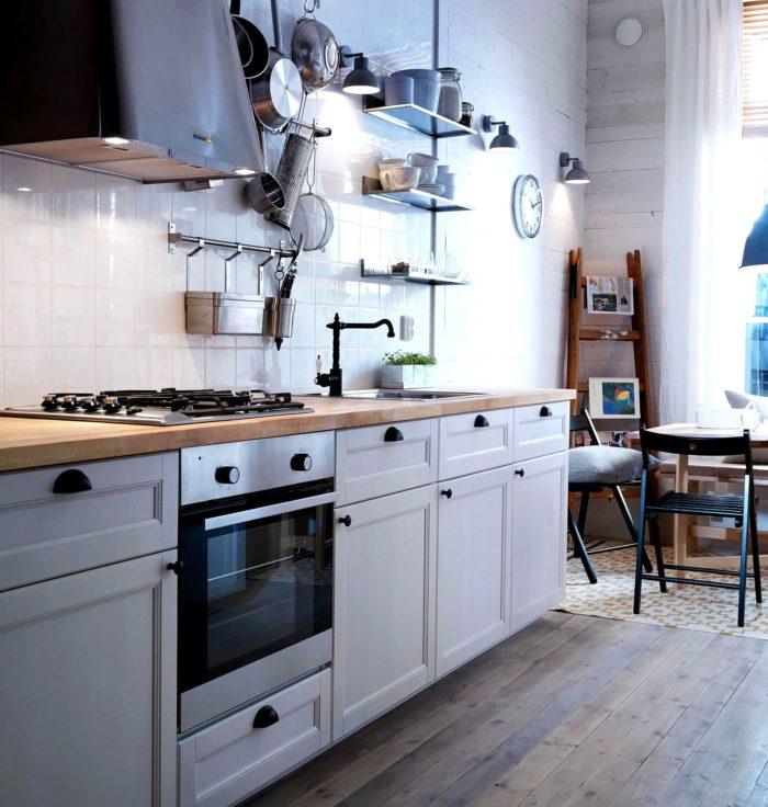 скандинавский стиль в интерьере кухня