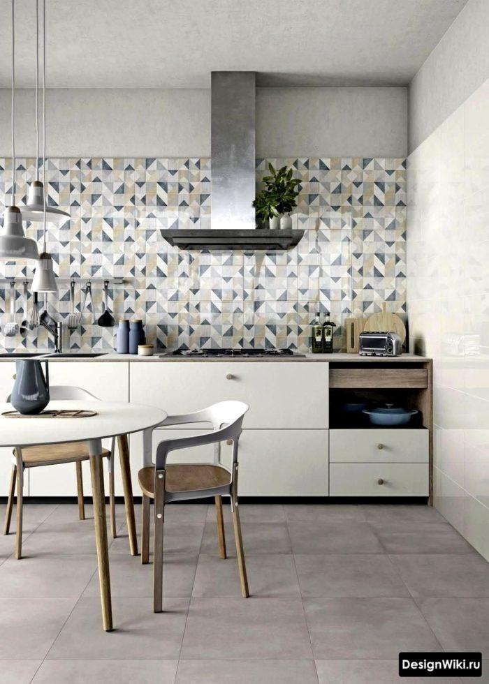 угловые кухни в скандинавском стиле фото