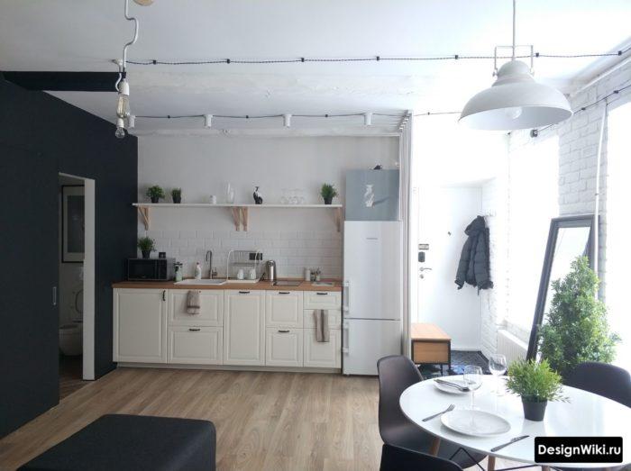 шторы на кухню в скандинавском стиле фото