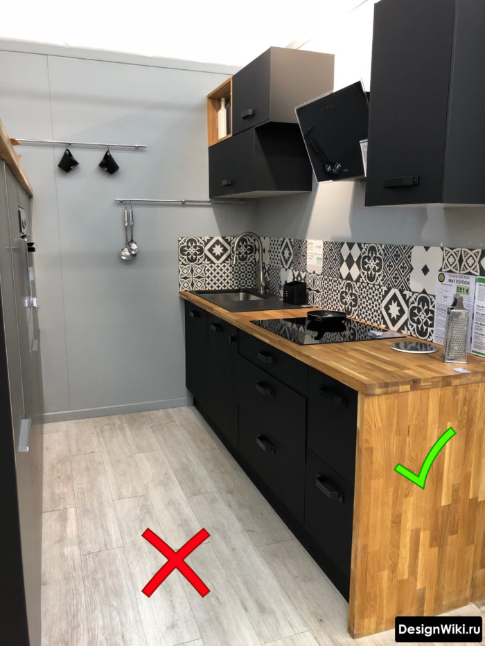 Выбор и сочетание дерева для кухни в стиле лофт