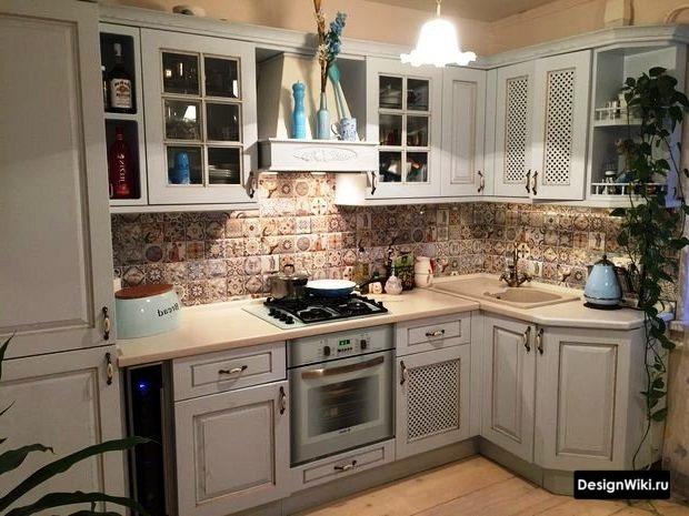 Реальный прованс в маленькой кухне