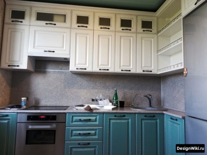варианты кухни 6 кв м