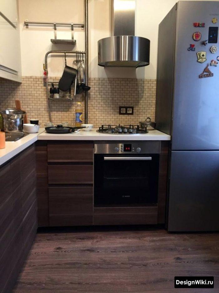 дизайн кухни в хрущевке 6 кв