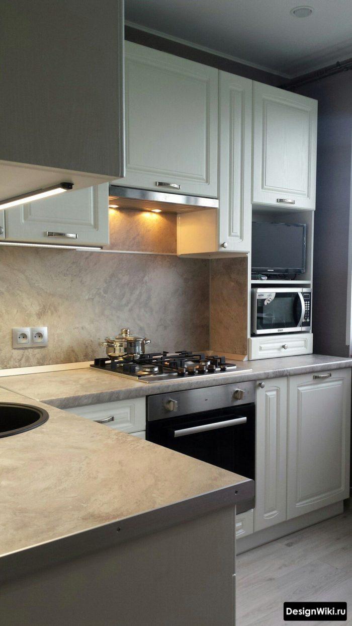 дизайн кухни 6 кв