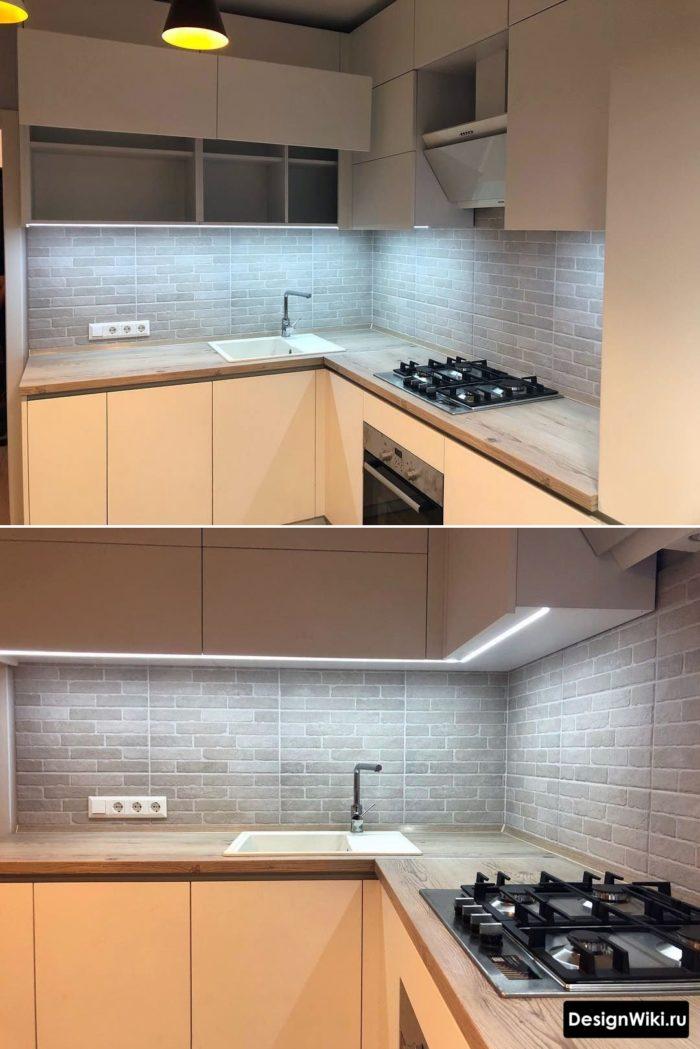 дизайн маленькой кухни 5 6 метров