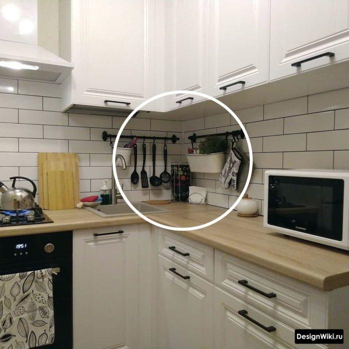 дизайн маленькой кухни 5 6