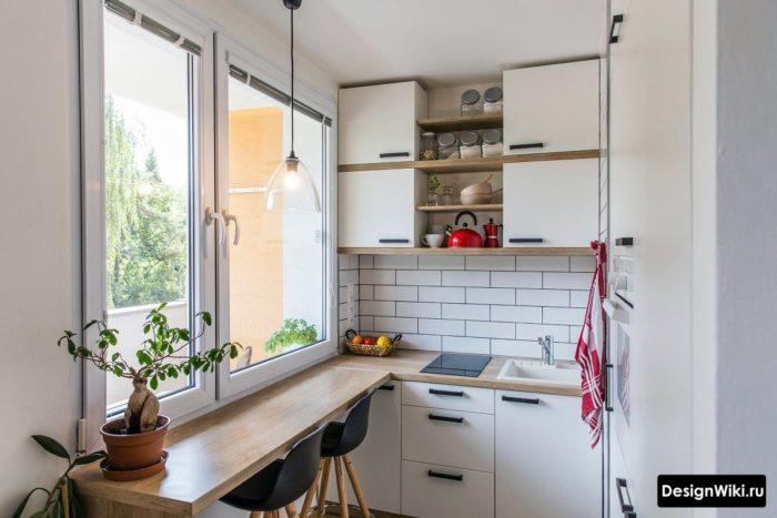 идеи для маленькой кухни 6 кв м