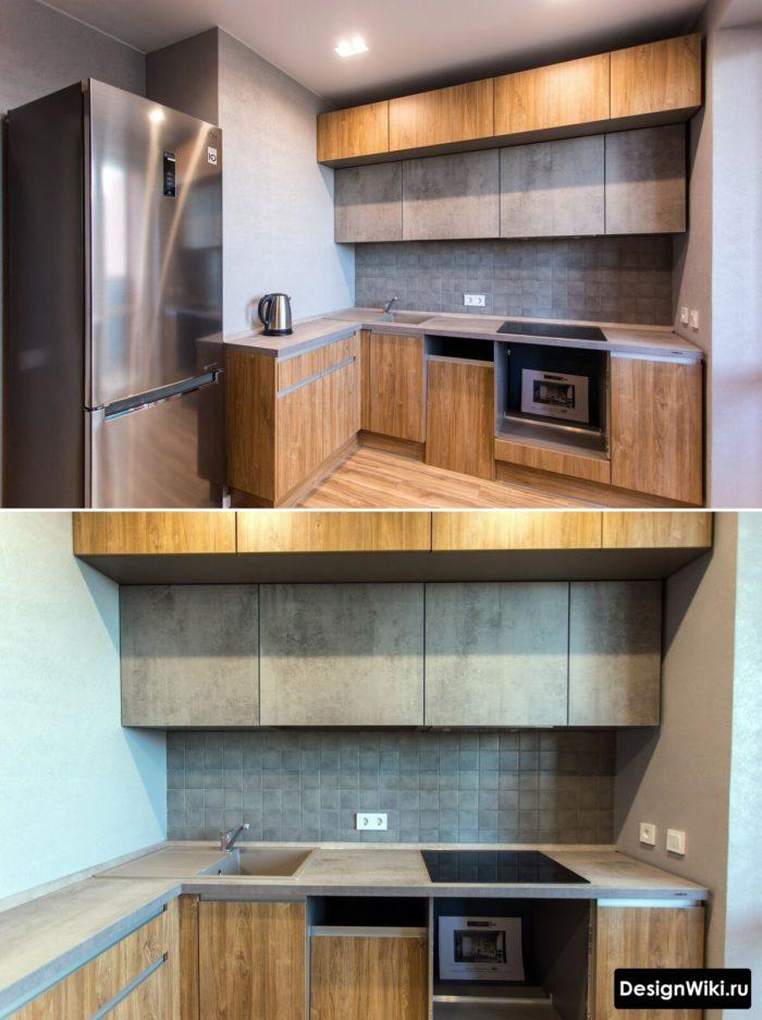 интерьер для маленькой кухни 6 метров