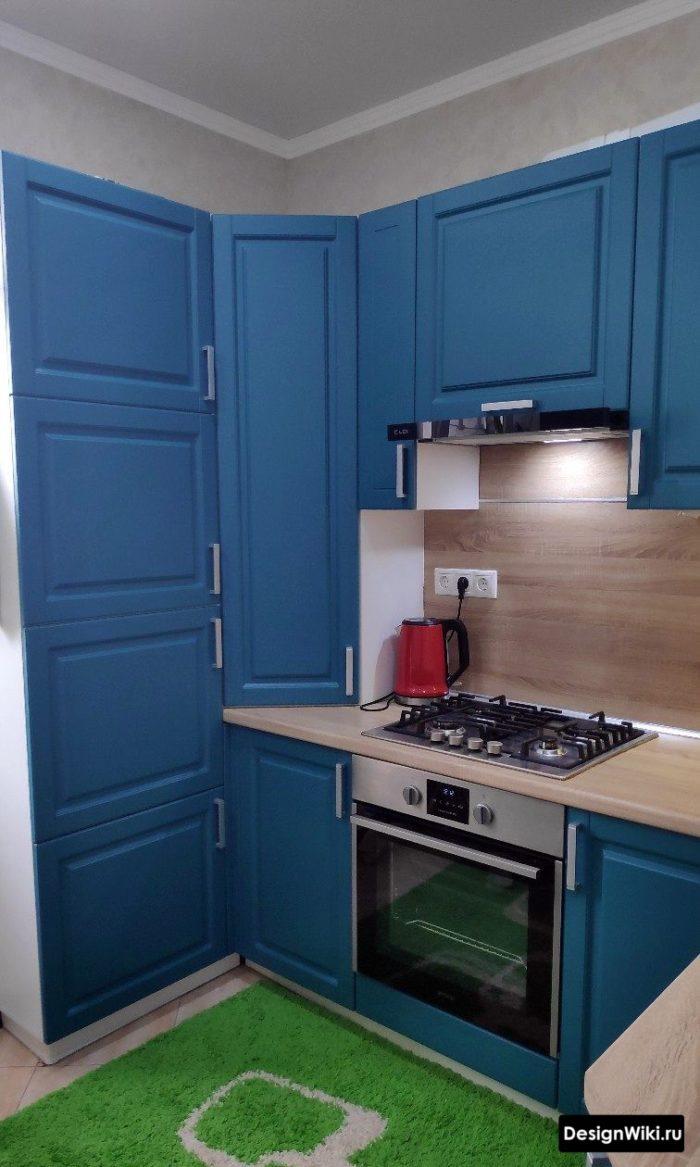 интерьер кухни 6 кв м секреты удачного дизайна