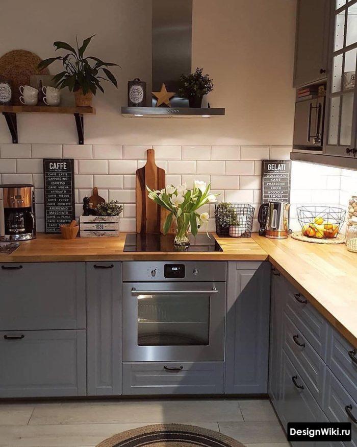 кухни встроенные угловые